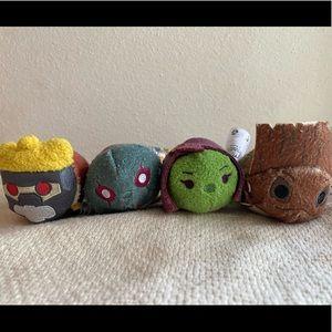 🔥Tsum Guardians Galaxy Groot Gamora StarLord Drax